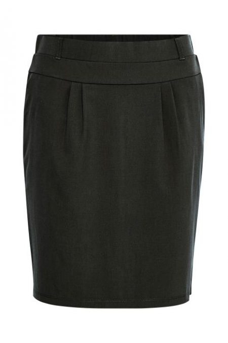 Jillian Skirt Sort, Kaffe