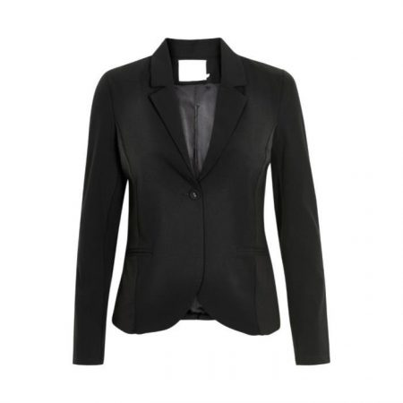 Sort Jillian Blazer, Kaffe