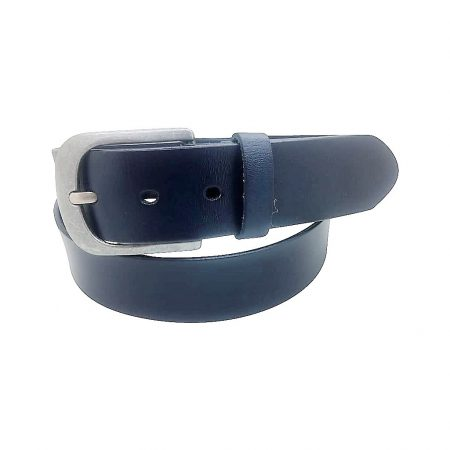 Belt Basic Leather, Blue