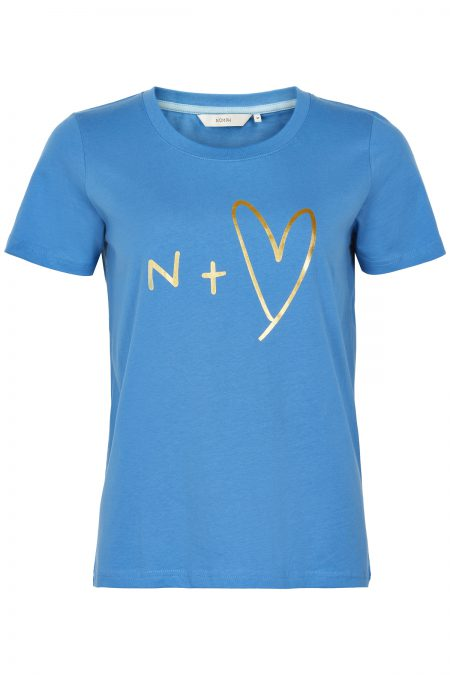 Ashlyn T-shirt Blue, Nümph