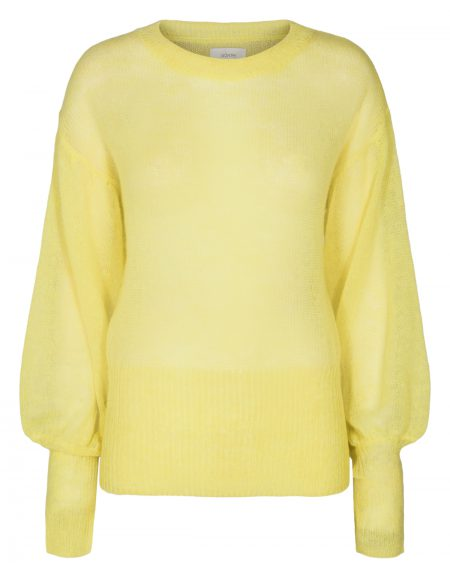Chantal Pullover Strik Gul, Numph