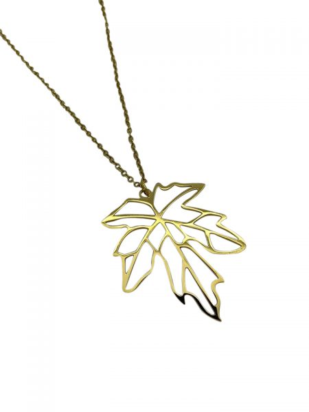 Necklace leaf