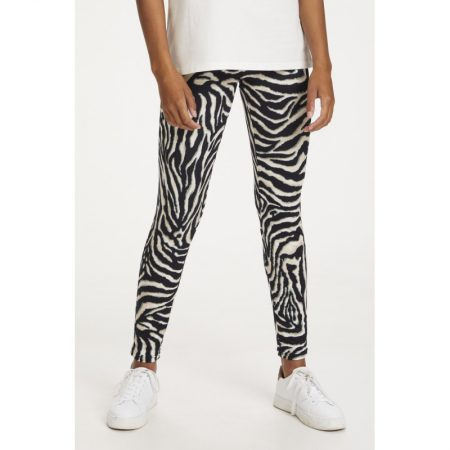 Anima Zebra Leggings, Kaffe